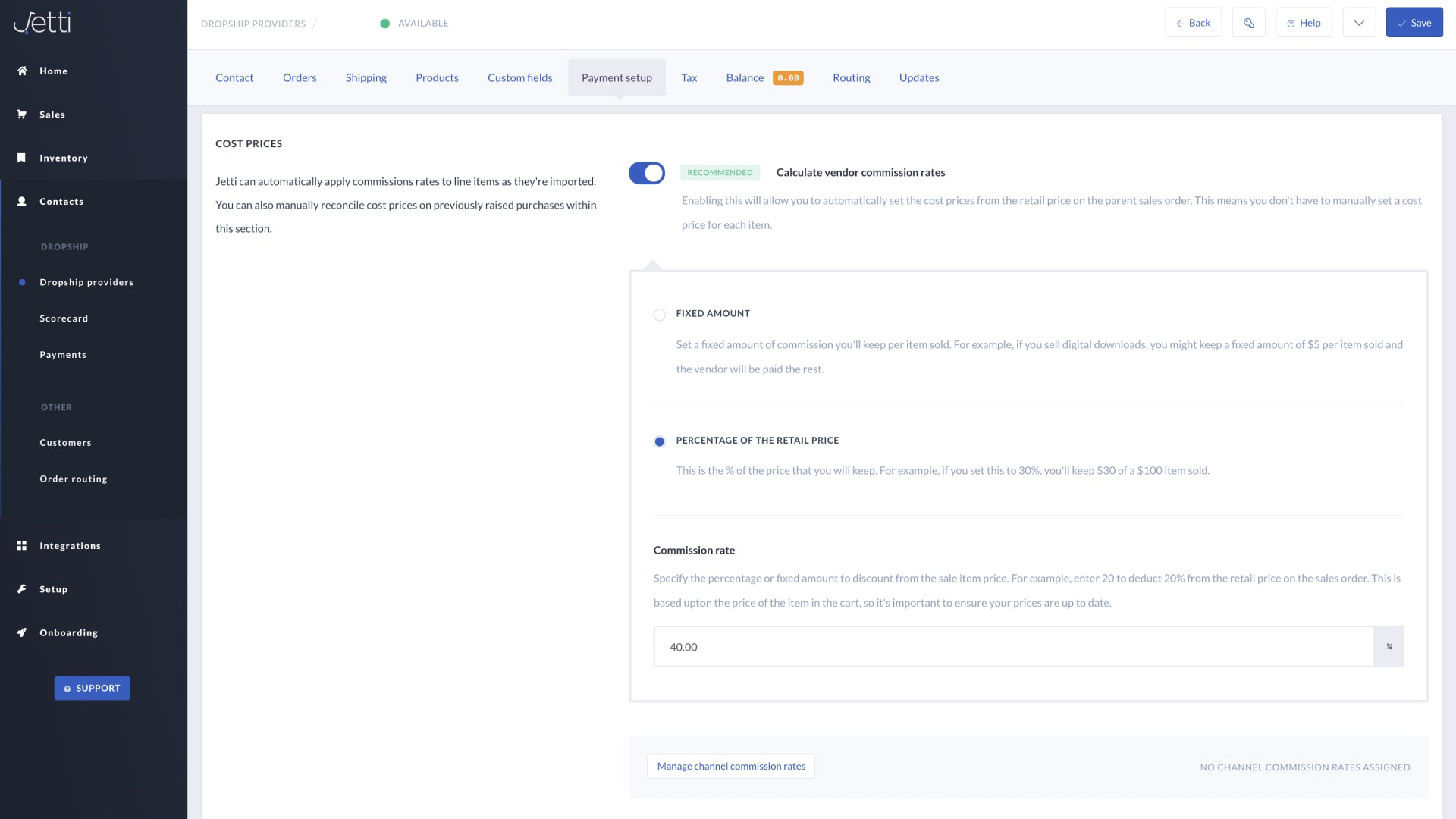 Automated vendor payments and payment reports